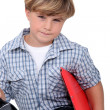 Royalty-Free Stock Photo: School boy