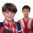 Schoolboys - Stock Photo