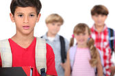 School children — Stock Photo