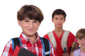 Schoolboys — Stock Photo