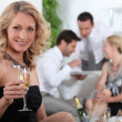Aperitif with friends — Stock Photo #10391481