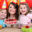 Child's birthday — Stock Photo #10392852