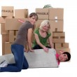 Moving house — Stock Photo