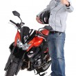 Stock Photo: Motorcycle Experience
