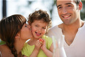 Portrait of a loving family — Stock Photo