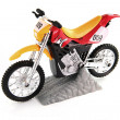 Toy motocross bike — Stock Photo