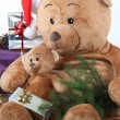 Kerstmis teddy bears — Stockfoto