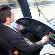 Foto de Stock  : Train Conductor