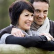 Stock Photo: Couple in the countryside