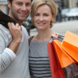 Couple shopping — Stock Photo #10468800