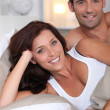 Couple in bed — Stock Photo #10469480