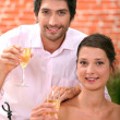 Couple celebrating — Stock Photo #10469790