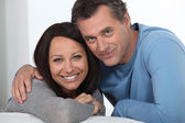 Portrait of a midde-aged couple — Stock Photo