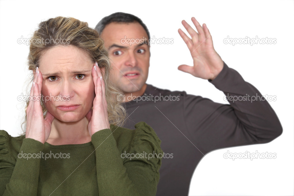 Couple fighting — Stock Photo #10471883
