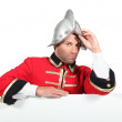 Stock Photo: Character dressed in conquistador