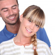 Portrait of a happy couple — Stock Photo #10493074