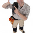 Electrician — Stock Photo #10496306