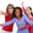 Stock Photo: Girls dancing