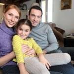 ein Familienfoto — Stockfoto