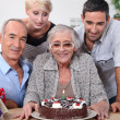 Stock Photo: Family Birthday