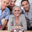 Family Birthday — Stock Photo #10501041