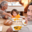 Family meal — Stock Photo #10501155