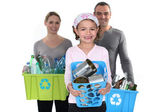 Recycling is important. — Stock Photo