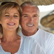 Middle-aged couple on holiday — Stock Photo #10512684