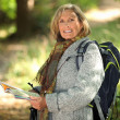 Stock Photo: Hiking for Seniors