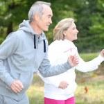 Seniors running — Stock Photo #10513271