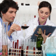 Laboratory analysis — Stockfoto