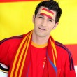Spanish football fan — Stock Photo #10517467