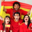 Young supporting Spain — Stock Photo #10517555
