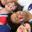Stock Photo: Go France!