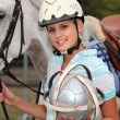 Polo Player — Stock Photo #10517953