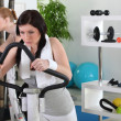 Women at the gym — Stock Photo #10518462