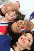Go France! — Stock Photo