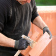 Royalty-Free Stock Photo: Bricklayer