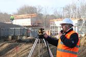 Surveyor on site — Stock Photo