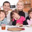 Royalty-Free Stock Photo: Nice family breakfast