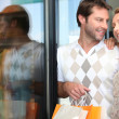 Couple shopping — Stock Photo #8014818