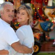 Couple at fair together — Stock Photo #8032140