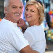 Stock Photo: Middle-aged couple