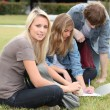 Group of students — Stock Photo #8050071