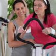 Stock Photo: Women working out in a gym