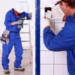 Electricians — Stock Photo #8059014