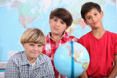 Little boys in classroom — Stock Photo