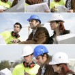 Architect and surveyor - Stockfoto