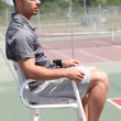 Tennis umpire - Stock Photo