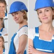 Women laborer — Stock Photo #8068709